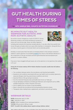 Gut Health During times of Stress