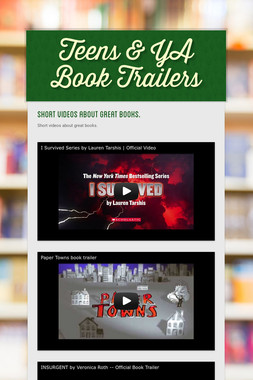 Teens & YA Book Trailers