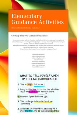 Elementary Guidance Activities