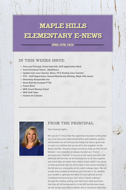 Maple Hills Elementary E-News