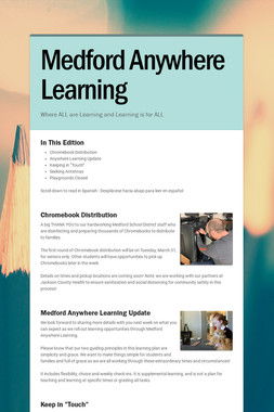 Medford Anywhere Learning