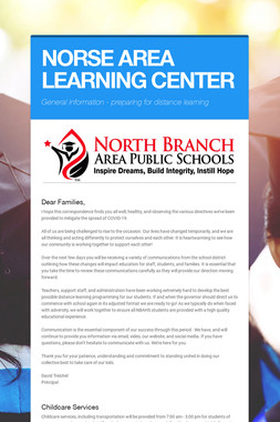 NORSE AREA LEARNING CENTER