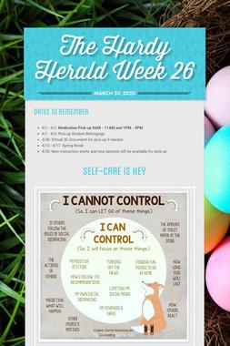 The Hardy Herald Week 26