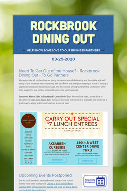 Rockbrook Dining Out