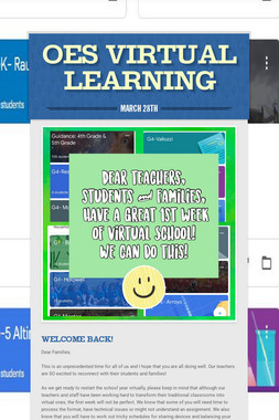 OES Virtual Learning
