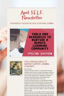 April S.E.L.F. Newsletter