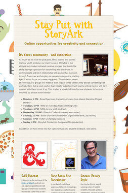 Stay Put with StoryArk