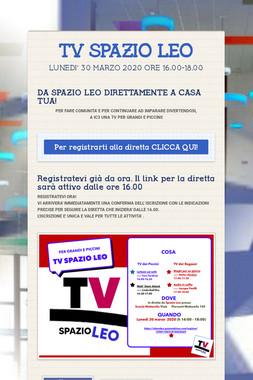 TV SPAZIO LEO