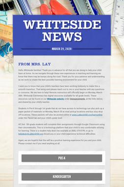 Whiteside News