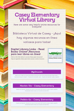 Casey Elementary Virtual Library