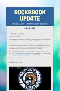 Rockbrook Update