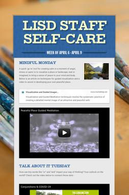LISD Staff Self-Care