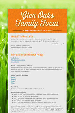 Glen Oaks Family Focus