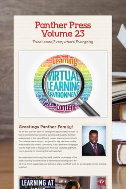 Panther Press Volume 23