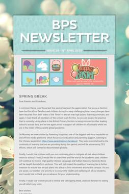 BPS Newsletter