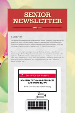 Senior Newsletter