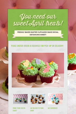 You need our sweet April treats!