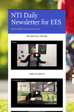 NTI Daily Newsletter for EES
