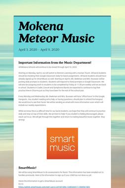 Mokena Meteor Music