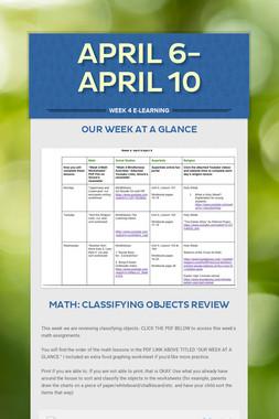 April 6-April 10