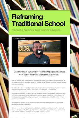 Reframing Traditional School