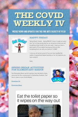 The COVID Weekly IV