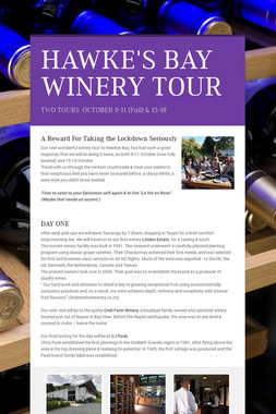 HAWKE'S BAY WINERY TOUR