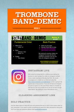Trombone Band-Demic