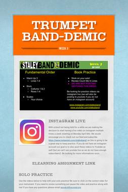 Trumpet Band-Demic