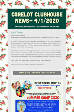 Carelot Clubhouse News- 4/1/2020