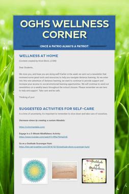 OGHS Wellness Corner