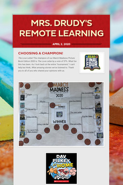 Mrs. Drudy's Remote Learning