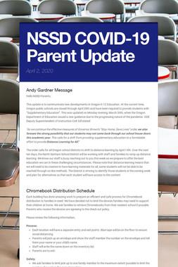 NSSD COVID-19 Parent Update