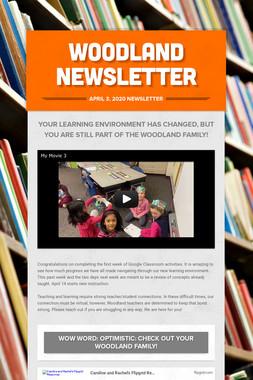 Woodland Newsletter