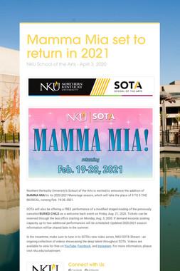 Mamma Mia set to return in 2021