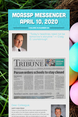 MoASSP Messenger April 10, 2020