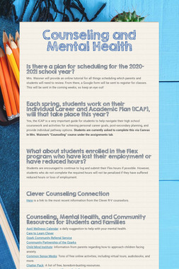 Counseling and Mental Health