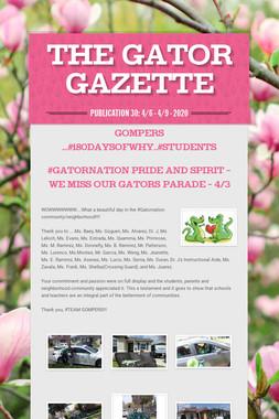 The GATOR Gazette