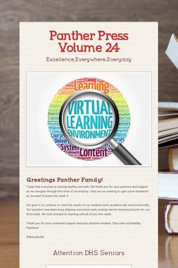 Panther Press Volume 24