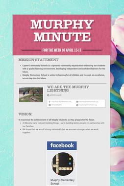 Murphy Minute
