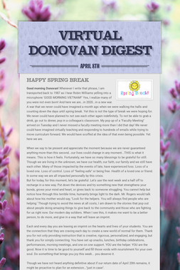 Virtual Donovan Digest