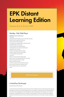 EPK Distant Learning Edition