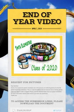 END OF YEAR VIDEO