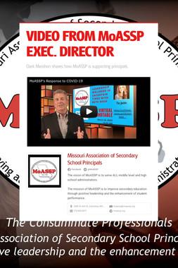 VIDEO FROM MoASSP EXEC. DIRECTOR