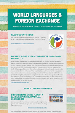World Languages & Foreign Exchange