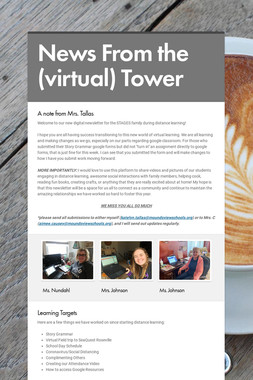 News From the (virtual) Tower