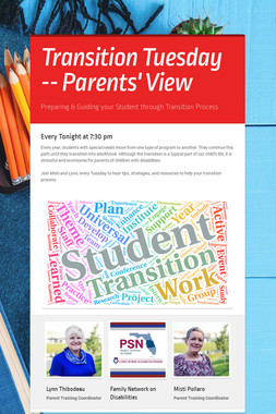 Transition Tuesday -- Parents' View