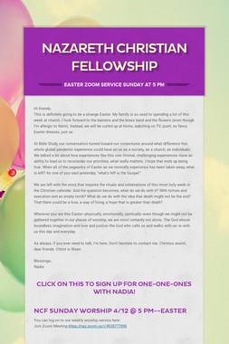 Nazareth Christian Fellowship