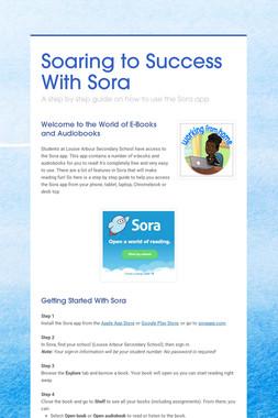 Soaring to Success With Sora