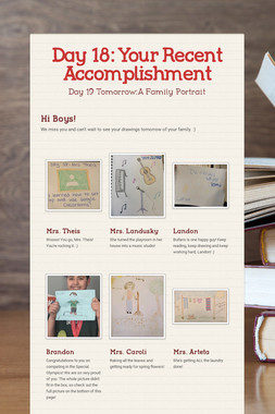Day 18: Your Recent Accomplishment